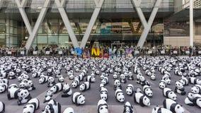Panda's in Bangkok Royalty-vrije Stock Afbeelding