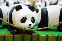 Panda save the world Royalty Free Stock Images