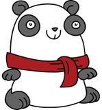 Panda Scarf Royalty Free Stock Image