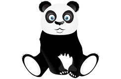 Panda se reposant mignon Photo libre de droits