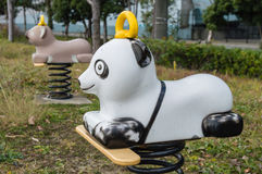 Panda Seesaw Stock Photos