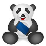 Panda Smartphone Lizenzfreies Stockfoto