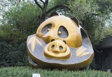 Panda Statue Image libre de droits