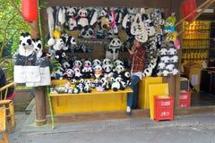 Panda store Royalty Free Stock Image