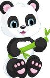 Panda sveglio illustrazione vettoriale