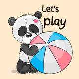 Panda sveglio royalty illustrazione gratis