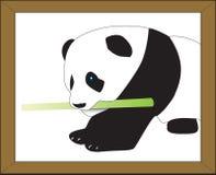 Panda sveglio Vectorized Fotografie Stock Libere da Diritti