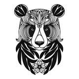Panda Tattoo Stockbilder