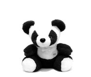 Panda Toy. Black and White Royalty Free Stock Images