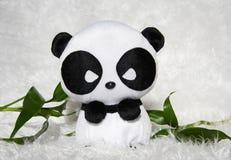 Panda toy. Soft Toy Panda on White Background Royalty Free Stock Images