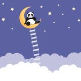 Panda-Träume Lizenzfreie Stockbilder