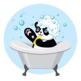 Panda très mignon Images libres de droits