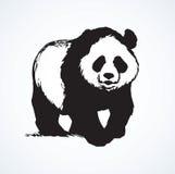 Panda. Vector drawing Stock Photos