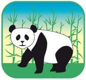 Panda vector hand drawn Royalty Free Stock Photography