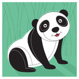 Panda Vector Illustration Royalty Free Stock Photography