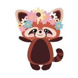 Panda vermelha 04 Imagem de Stock Royalty Free