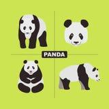 Panda Wildlife Chinese Animal royalty illustrazione gratis