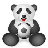 Pandafußball Lizenzfreies Stockfoto