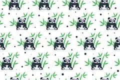 Pandahintergrund Lizenzfreie Stockbilder