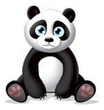 Pandaillustratie Royalty-vrije Stock Afbeelding