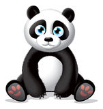 Pandaillustration Lizenzfreies Stockbild