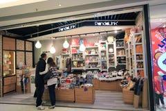 Pandalink shop in hong kong Royalty Free Stock Images