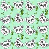 Pandamuster Stockfotografie
