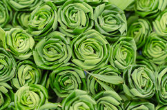 Pandan leaves Rose Royalty Free Stock Photos