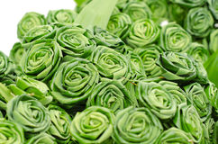 Pandan leaves rose Stock Photos