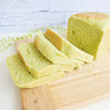 Pandan sponge cakes Stock Photography
