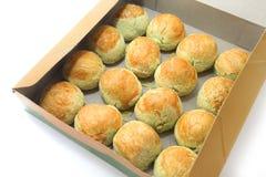 Pandan Tambun Biscuit Royalty Free Stock Images