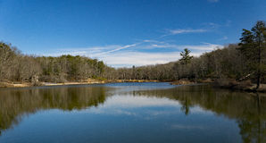 Pandapas Pond. Located in the George Washington and Jefferson National Forest, Giles County, Virginia, USA Stock Photography