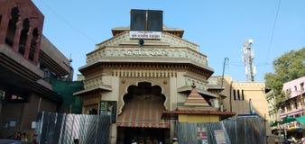 Pandaripur tempel arkivbilder