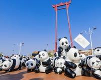 pandas Photographie stock libre de droits