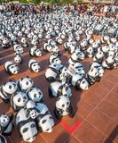 Pandas del viaje 1600 del mundo en Bangkok Foto de archivo libre de regalías