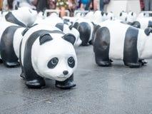 Pandas der Welttournee 1.600 in Bangkok Lizenzfreie Stockbilder