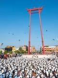Pandas der Welttournee 1600 in Bangkok Lizenzfreies Stockbild