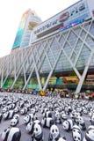 Pandas en Bangkok Foto de archivo