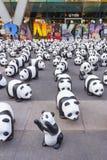 Pandas en Bangkok Imagenes de archivo