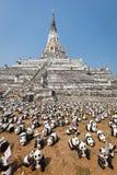 Pandas en Thaïlande Image libre de droits