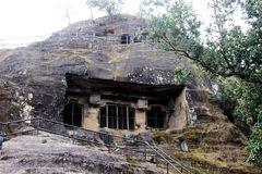Pandav Caves, Pachmarhi Royalty Free Stock Image