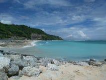Pandawa海滩在巴厘岛 免版税库存照片