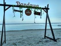 Pandawa-Strand Bali Lizenzfreie Stockbilder