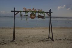 Pandawa-Strand Bali Lizenzfreie Stockfotos