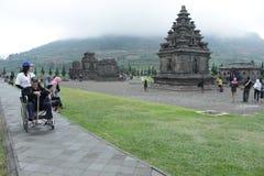 Pandawa-Tempel Stockbilder