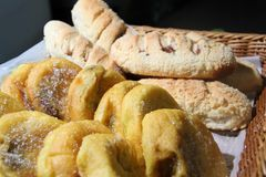 Pandecoco Chlebowy przepis Panlasang Pinoy zdjęcia stock