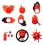 Pandemic influenza and hand hygiene 5 Stock Images