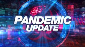 Pandemic Update - Media TV Animation Graphic Title