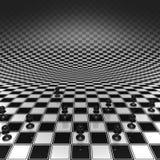 Panden op een schaakbord Royalty-vrije Stock Afbeeldingen