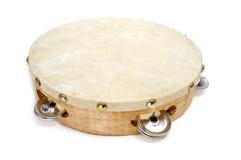 Pandereta, spanischer Tambourine Lizenzfreies Stockfoto